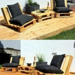 11-set de mobilier handmade pentru gradina din paleti de lemn vechi