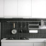 11-set suport accesorii si ustensile bucatarie cu fixare pe perete
