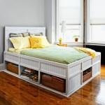 11-spatii de depozitare proiectate sub patul din dormitor