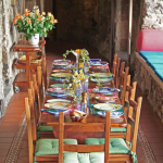 11-terasa exterioara loc de luat masa hotel torre di clavel positano amalfi italia