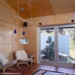 11-vedere spre gradina din zona de conversatie din living casa mica 45 mp