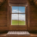 11-vedere spre oceanul Pacific din dormitorul mansardat al cabanei din lemn