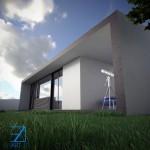11 birou gadget structura metalica - Vision House