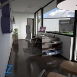 12 interior casa structura metalica - Vision House