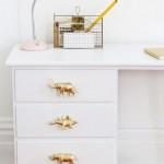 12-accesorii noi sertare birou vechi din lemn