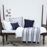 12-accesorii textile cu tematica maritima pentru amenajarea dormitorului