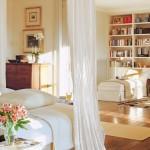 12-baldachin flori si culori deschise in amenajarea dormitorului