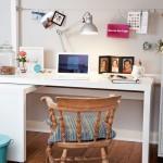 12-birou lucru amenajat sub patul supraetajat din living