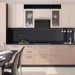 12-bucatarie moderna cu blat de lucru spatios si liber