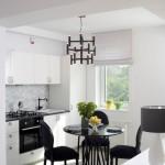 12-bucatarie moderna in alb si negru design Irina Pogonaru