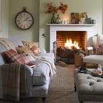 12-canapea asortata cu peretii amenajare living mic cu semineu