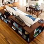 12-canapea moderna cu biblioteca proiectata in spate si pe laterale