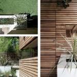 12-curte interioara moderna design minimalist apartament Notting Hill Londra