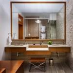 12-decor Feng Shui amenajare baie moderna cu piatra naturala si lemn