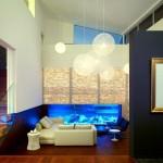 12-exemplu montare acvariu sub scara interioara living