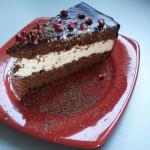 12-felie de tort castelana blat de ciocolata crema mascarpone frisca si lapte condensat