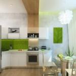 12-finisaj si accesorii vernil in decorul unei bucatarii moderne albe