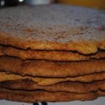 12-foile pentru tortul cu miere si miez de nuca