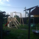 12-loc de joaca din lemn pentru copil finalizat si pregatit de vopsire