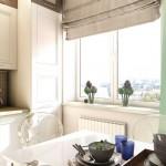 12-loc de luat masa amenajat langa fereastra bucatarie de 9 mp stil clasic
