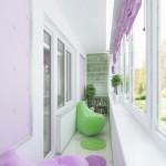 12-loc de relaxare si spatiu de lectura in balconul apartamentului