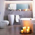 12-lumanari parfumate decor baie moderna relaxanta