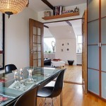 12-masa blat sticla loc luat masa apartament 3 camere stil scandinav