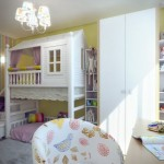 12-mobila alba perete galben amenajare camera copii