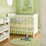 12-mobila alba si pereti vernil decor camera bebe