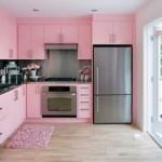 12-mobila bucatarie roz pastel