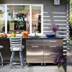 12-mobilier de inox amenajare bucatarie de exterior design modern