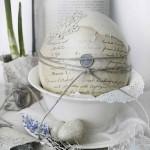 12-model de ou ornat in stil vintage pentru Paste