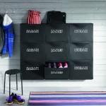 12-model impartire a sertarelor pentru pantofi de pe hol intre membrii unei familii
