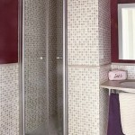 12-mozaic bej decor cabina dus baie moderna