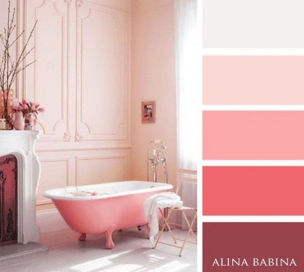 12-paleta cromatica compusa din diverse nuante de roz mov si gri