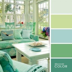 12-paleta cromatica din nuante deschise si pastelate de verde