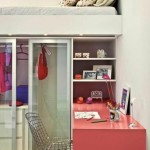 12-pat montat deasupra unui dulap de haine amenajare dormitor mic