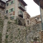 12-pensiuni si ruine din piatra Dimitsana Grecia