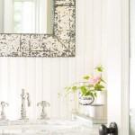 12-perete baie placat cu lambriu pvc alb plastic