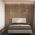 12-perete de accent imitatie lemn amenajare dormitor 10 mp design minimalist