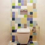 12-perete si pardoseala de accent baie faianta diferite culori
