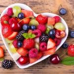 12-platou in forma de inimioara pentru servirea fructelor si a desertului