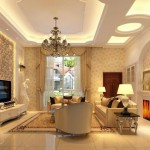 12-scafe rigips cu spoturi si neoane integrate decor living clasic