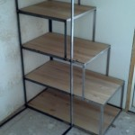 12-schelet metalic scari acces pat inaltat casa mic structura lemn