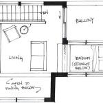12-schita plan etaj casa 46 mp cu etaj