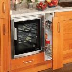 12-sertar vertical pentru sticle si borcanase de condimente mobilier bucatarie