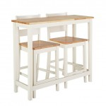 12-set masa si scaune tip bar pentru bucatarie mica si ingusta