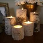 12-sfesnice rustice confectionate din bucati de mesteacan