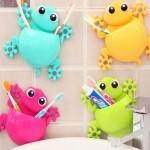 12-suport din siicon pentru periuta si paste de dinti copii gratuit