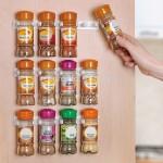 12-suport pentru condimente fixare pe interiorul usii dulapurilor de bucatarie